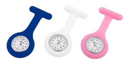 Relógio De Lapela Profissionais Da Saúde Enfermagem P.a Med