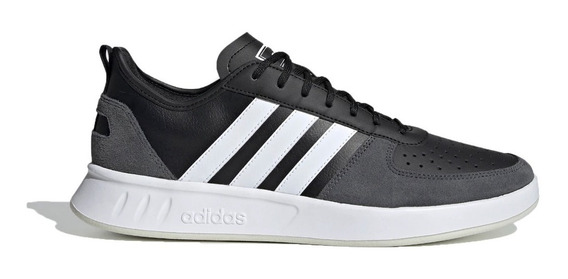 adidas Zapatillas Lifestyle Hombre Court 80 Negro - Bco Fkr