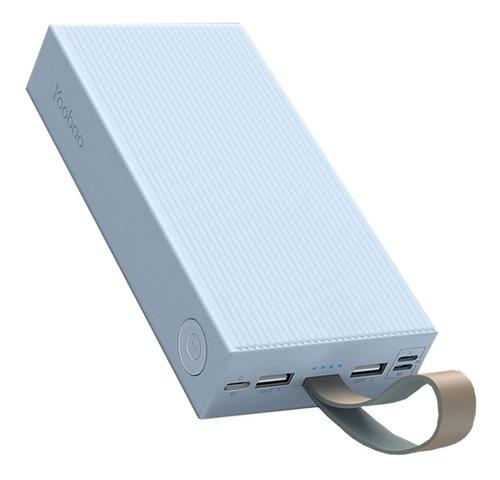 Power Bank Cargador Portatil Usb 30000 Mah 30e Doble Usb