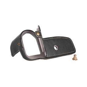 Meia Capa Half Case Pu Leather Preta P/ Canon 6d Mark Ii
