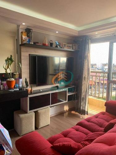 Imagem 1 de 20 de Apartamento Com 2 Dormitórios À Venda, 49 M² Por R$ 245.000,00 - Jardim Arujá - Guarulhos/sp - Ap3088