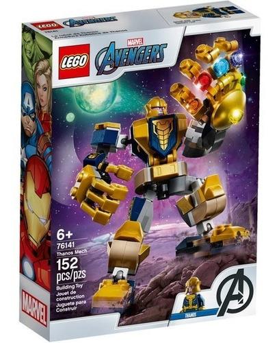 Lego Marvel Avengers Thanos Mech 76141 152 Piezas Original