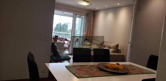Apartamento Com 3 Dormitórios À Venda, 94 M² Por R$ 650.000 - Morumbi - São Paulo/sp - Ap39701