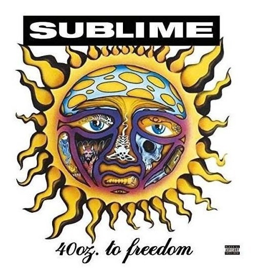 Sublime 40oz To Freedom Gatefold Lp Jacket Usa Lp Vinilo X 2