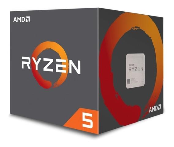 Procesador gamer AMD Ryzen 5 2600 YD2600BBAFBOX de 6 núcleos y 3.4GHz de frecuencia