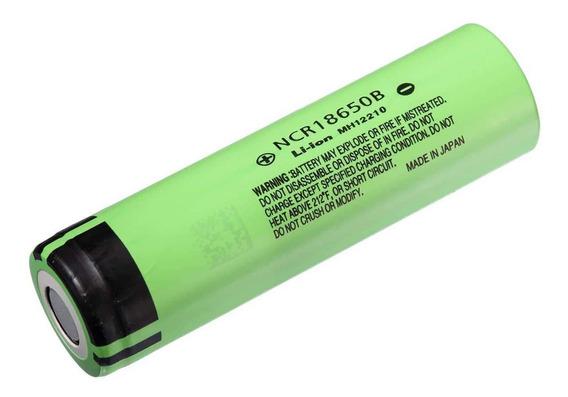 Bateria Original 18650b 3,7v 3400mah Panasonic