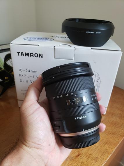 Lente Tamron 10-24mm F/3.5-4.5 Di Ii Vc Hld - 2º Gen - Nikon