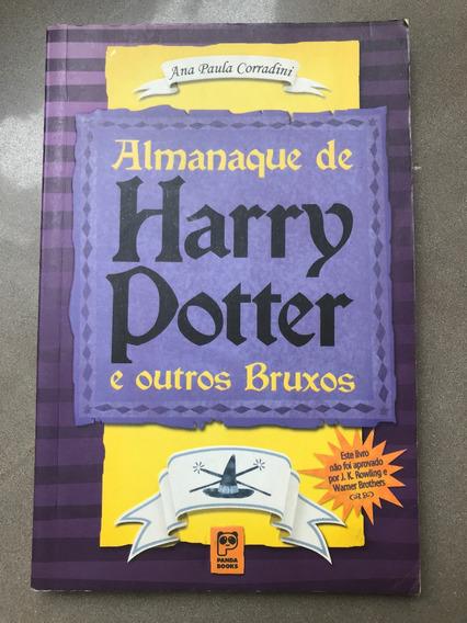 Livro Almanaque De Harry Potter E Outros Bruxos