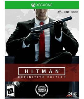 Hitman Definitive Edition Xbox One Nuevo Sellado Físico 4k