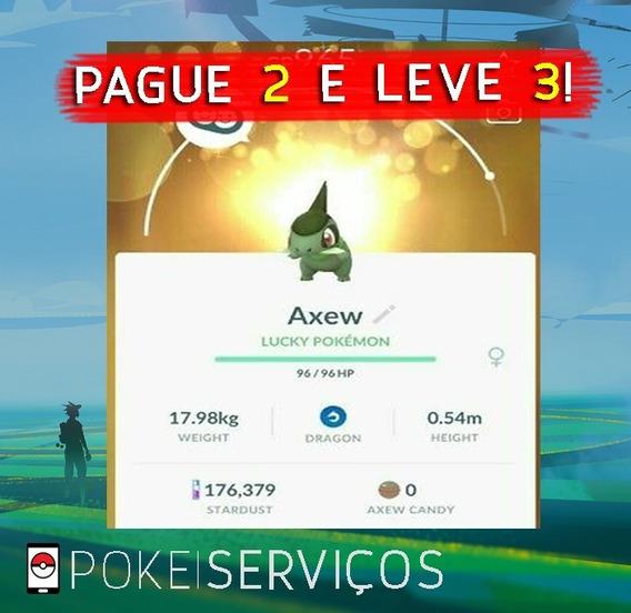Super Promoção! Axew! - Pokémon Go