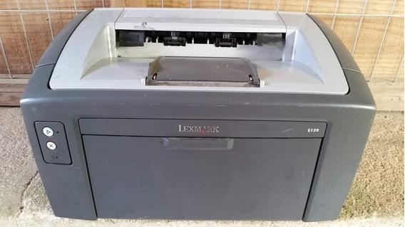 Impressora Lexmark E120, No Estado. Ligando.