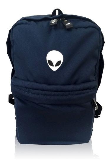 Mochila Masculina Alien Blue