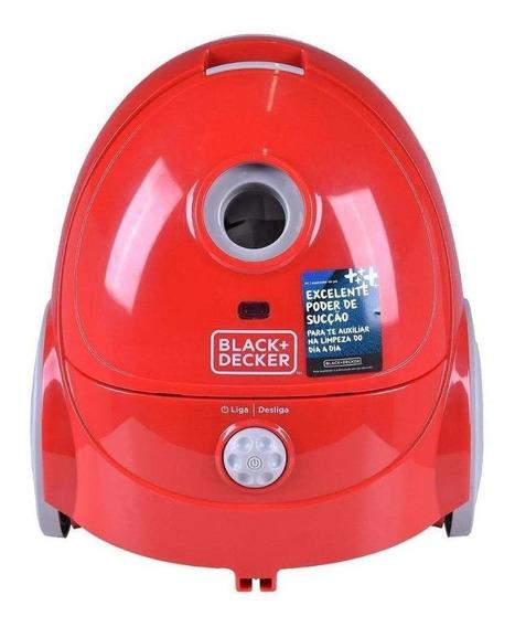 Aspirador Black+Decker A1 0.6L vermelho e cinza 220V