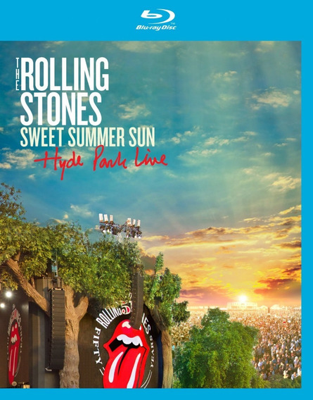 Blu-ray The Rolling Stones Sweet Summer Sun Hyde Park Live