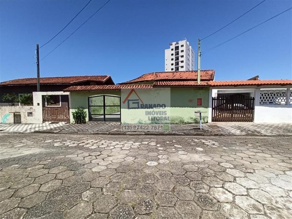 Casa Para Venda Em Mongaguá, Balneário Jardim Praia Grande, 3 Dormitórios, 1 Suíte, 2 Banheiros, 4 Vagas - 679_1-1367418