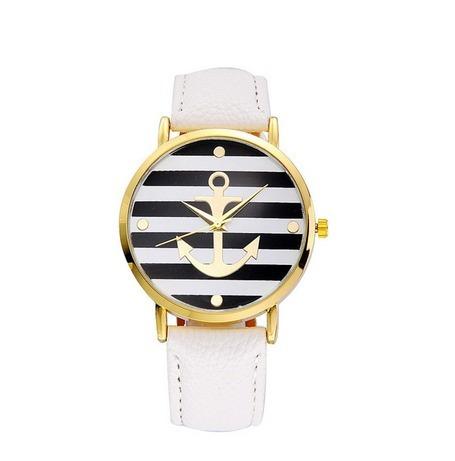 Relógio Luxo Âncora Retro