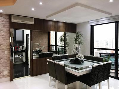 Apartamento Duplex Residencial À Venda, Tatuapé, São Paulo. - Ad0018