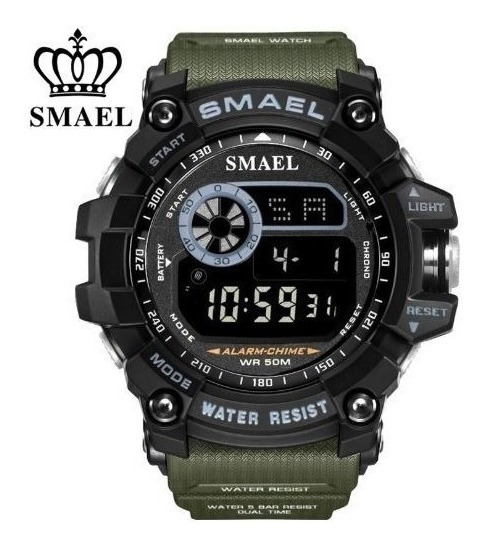 Relógio Masculino Esportivo Militar Shock Smael 8010