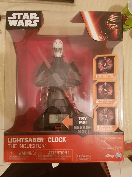 Reloj Star Wars The Inquisitor Alarma Luz Y Sonido