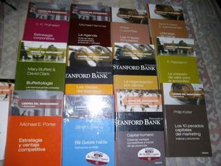 Libros De Coleccion De Marketing / Lideres Del Management 4$