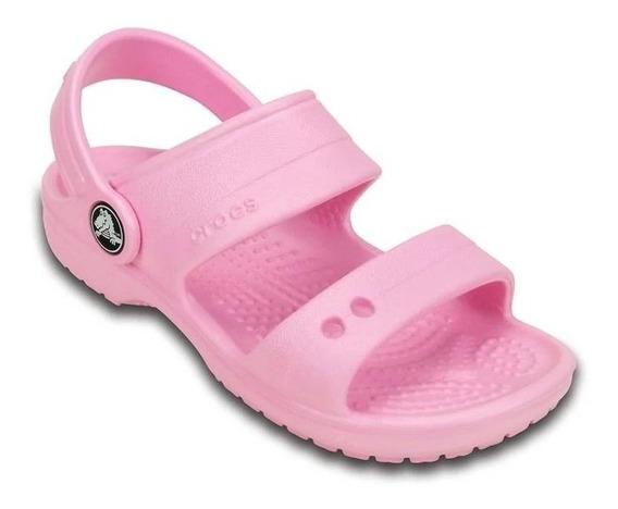 Sandália Crocs Infantil Classic Sandal Kids Original Com Nfe