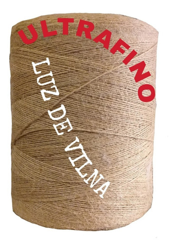 Hilo Yute Ultrafino 3000m  El Mas Fino Artesanias,crochet