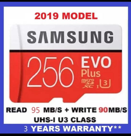 Cartão De Memória Samsung 256 Gb Com Frete Grátis
