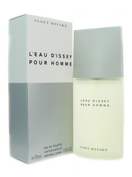 Perfume Issey Miyake 75ml Leau Dissey Pour Homme Original