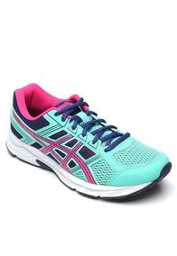 Tenis Asics Feminino Gel Contend 4 A Original Vde/azul/rosa