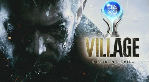 Troféu De Platina Resident Evil Village