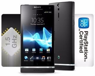Sony Xperia S Lt26i 32gb 12mp Preto Dual Core S/ Caixa Usado
