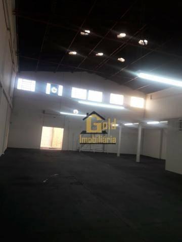 Galpão Para Alugar, 400 M² Por R$ 2.800,00/mês - Parque Industrial Tanquinho - Ribeirão Preto/sp - Ga0114