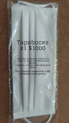 Tapabocas Tela Quirúrgica