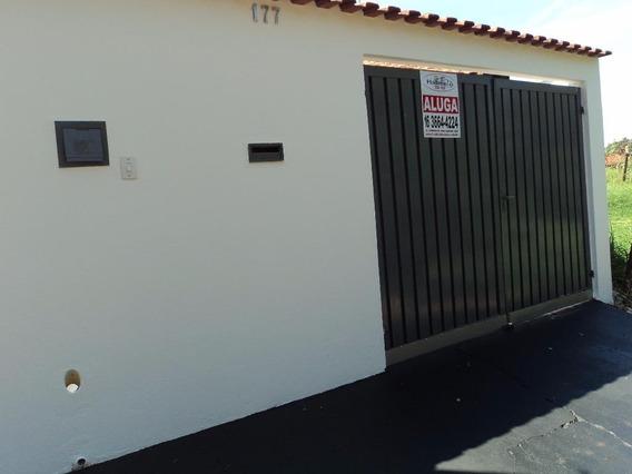 Casa Residencial Para Locação, Vila Cristal, Brodowski. - Ca0565