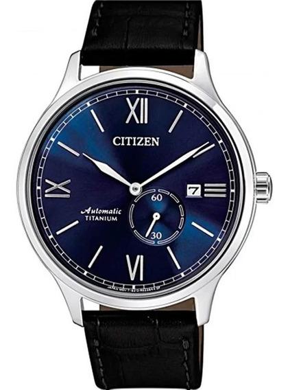 Relógio Citizen Automático Super Titanium Nj0090-21l / Tz208