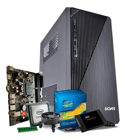 Pc Intel Core I5 3.3 Ghz, 8gb Ddr3, Ssd 120, Promoção + Nfe