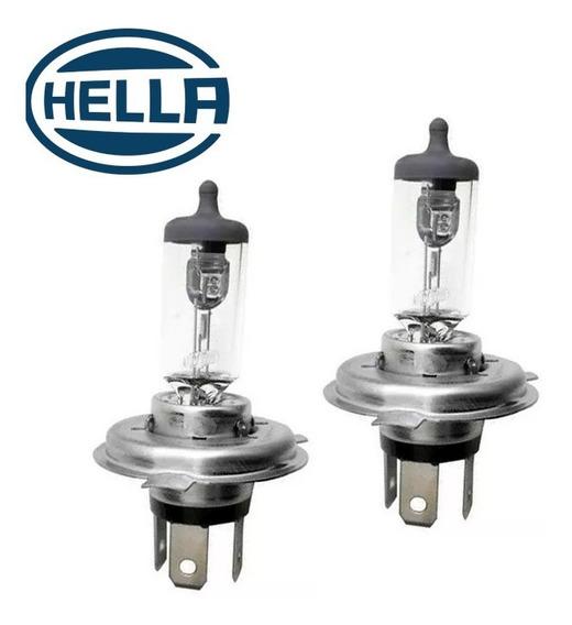 Par De Lampadas Do Farol Baixo/ Alto H4 L200 Gl/ Gls 95 A 06
