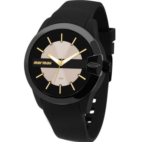 Relógio Unissex Mormaii Mauí Analógico Mo2035ao/8p Com Nf-e!