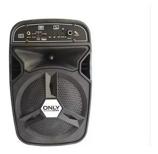 Parlante Portatil Bluetooth Karaoke + Micrófono 700w