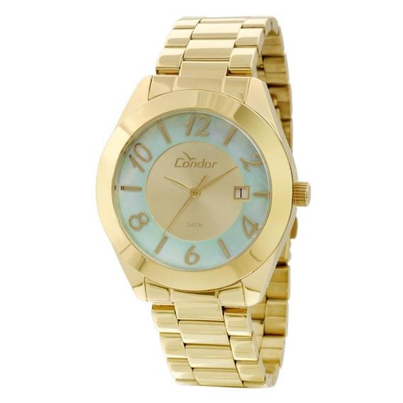 Relógio Feminino Analógico Condor Co2115te 4b - Dourado