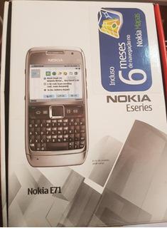 Nokia E71 Preto - 3mp C/ Flash, Desbloqueado - Usado