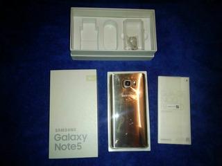 Samsung Galaxy Note 5 Dorada Piezas Deshueso