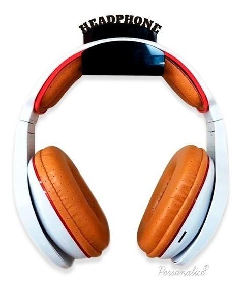 Suporte Fone De Ouvido Para Parede Fone Pc Headset Gamer