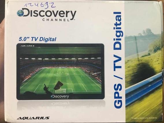 Gps / Tv Digital Discovery 5.0 - Aquarius