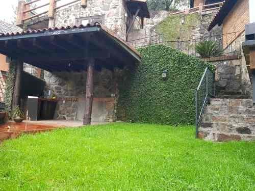 Cabaña Remodelada Con Vista Al Bosque