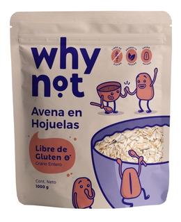 Avena En Hojuelas Sin Gluten X 1000 Grs Why Not