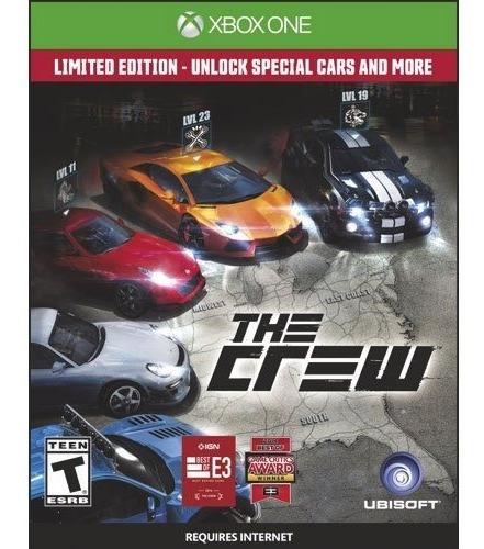 Jogo The Crew Pra Xbox One Midia Fisica