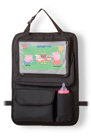 Suporte Organizador Tablet iPad Bolso Bebe Porta Mamadeira