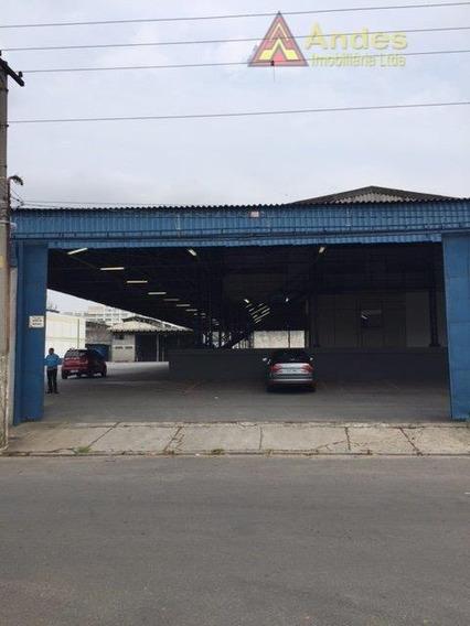 Galpão Comercial Para Locação, Vila Ribeiro De Barros, São Paulo. - Ga0175