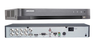 Dvr Hikvision Turbo Hd 8 Canais 3mp 4.0 Ds-7208hqhi-k1